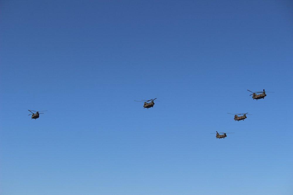 第一空挺団降下始め 082
