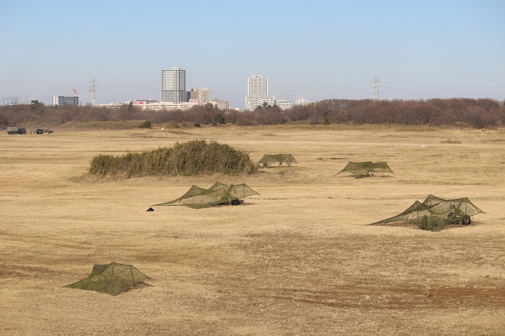 第一空挺団降下始め 083