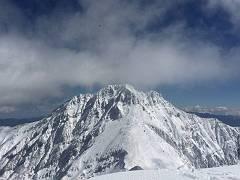 14今年何度目かの赤岳。雪があってこの日が一番きれい!-s