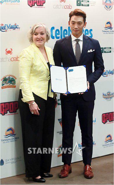 20151029オーストラリア・クイーンズランド州の広報大使に任命001