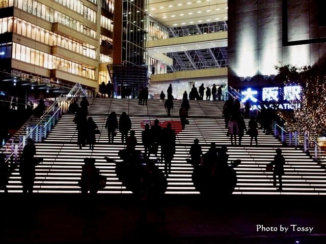 グランフロント大阪 大階段