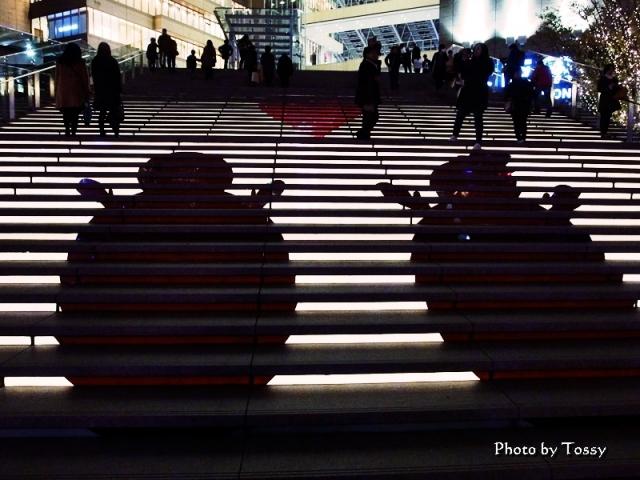 大階段シルエット
