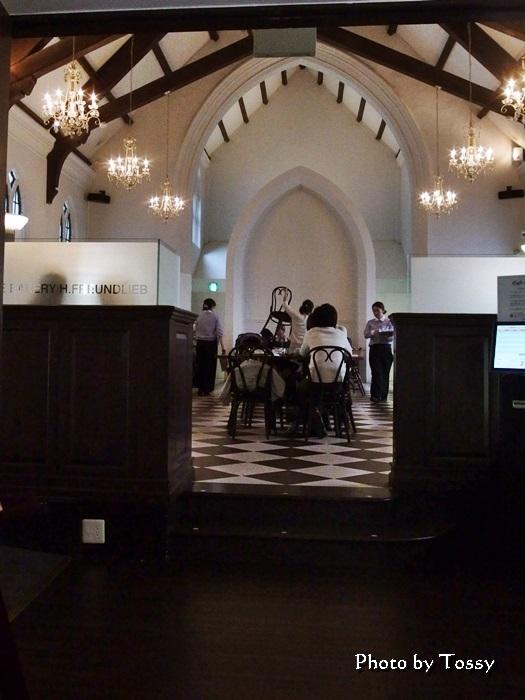 フロインドリーフ本店2階カフェ