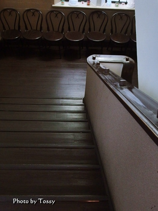 旧ユニオンチャーチ階段