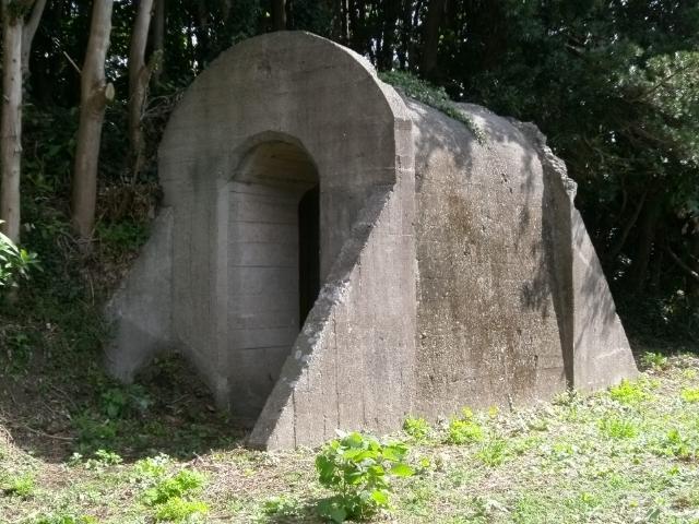 出水海軍航空隊 地下壕 (3)