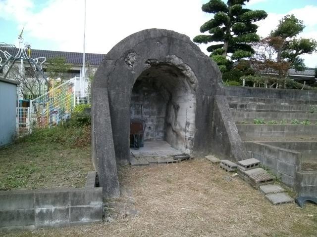 出水海軍航空隊 地下壕 (7)