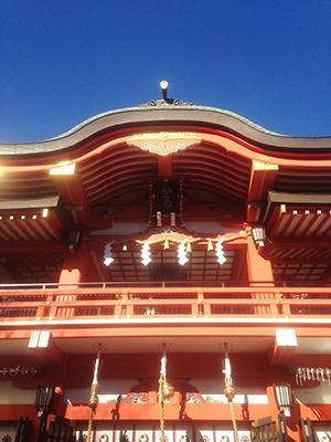 千葉神社で初詣