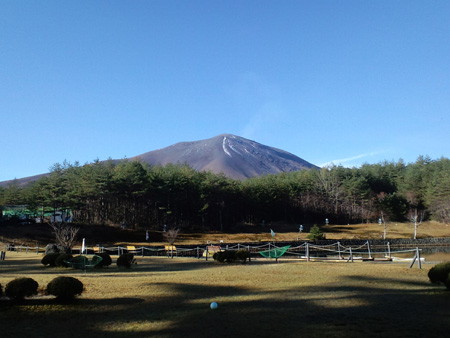 H27.11.16浅間山初冠雪