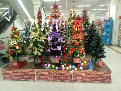イオンクリスマスツリー