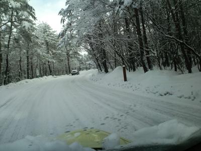 H28.3.11朝国道146積雪