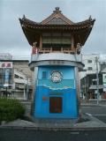 JR浜田駅 どんちっち神楽時計