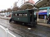 伊予鉄松山市駅 坊ちゃん列車の機回し