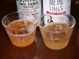 日本ビール 龍馬1865 注ぎ