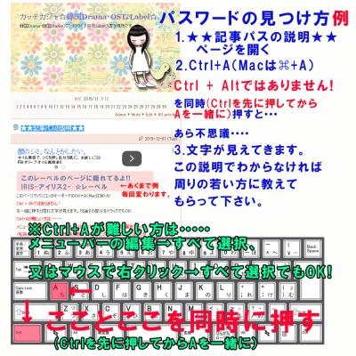 反転文字の説明☆新