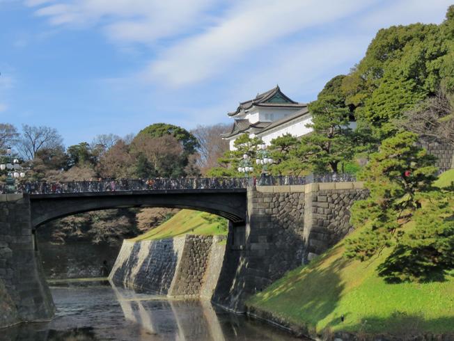 皇居の風景
