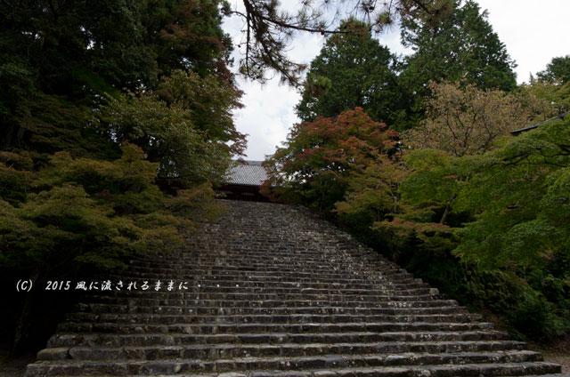 2015年10月撮影 京都・神護寺の風景5