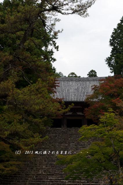 2015年10月撮影 京都・神護寺の風景7