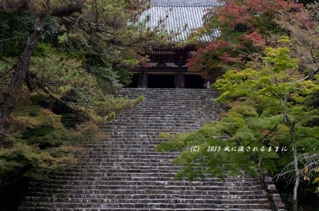 2015年10月撮影 京都・神護寺の風景8