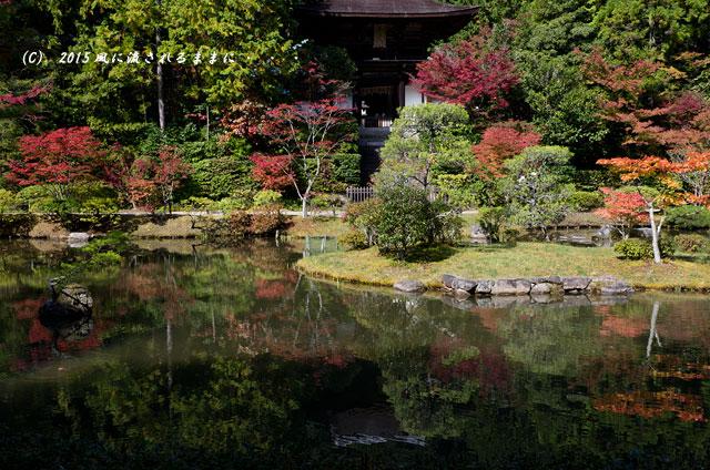 2015年10月撮影 奈良・円成寺の紅葉1