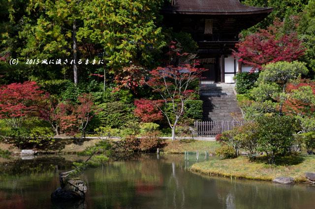 2015年10月撮影 奈良・円成寺の紅葉2