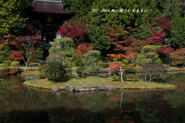 2015年10月撮影 奈良・円成寺の紅葉3