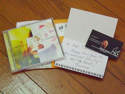 Sunnie Paxsonからのお年玉CD