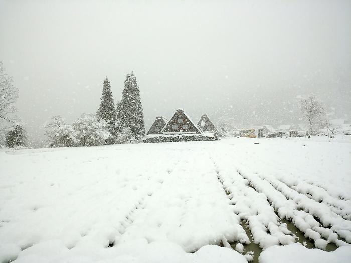 新年のオススメ旅行!幻想的な雪の合掌集落、白川郷のライトアップ!①