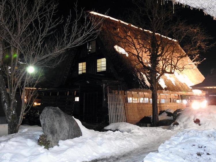 冬の風物詩 第6回 白川郷ライトアップ 2月7日(日)  ①