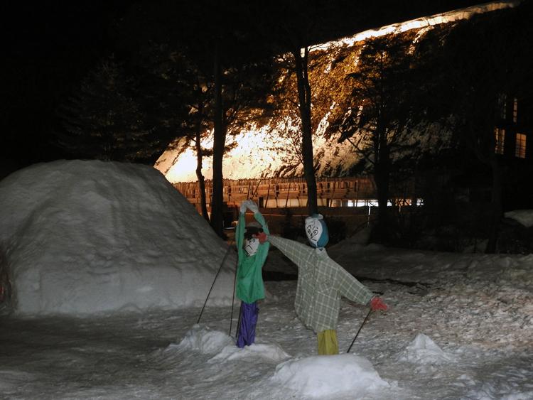 冬の風物詩 第6回 白川郷ライトアップ 2月7日(日)  ②