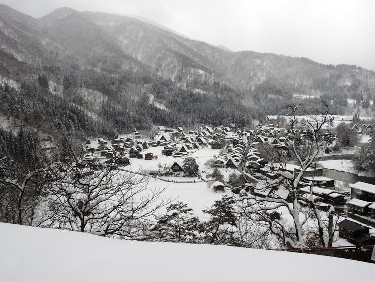 2月飛び石連休に世界遺産白川郷へ 2016年2月10日(水)~14日(日) ①