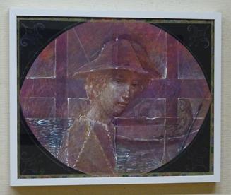 馬淵哲「絵を画く少年」