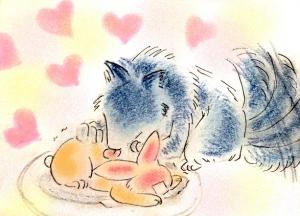 兎を食す狼