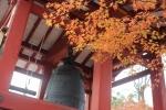 平等院の鐘と紅葉