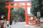 下鴨神社の鳥居2