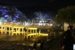花灯路と渡月橋2