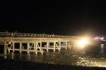 花灯路と渡月橋4