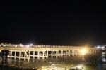 花灯路と渡月橋5