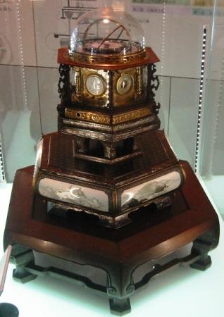 万年時計こと万年自鳴鐘(和時計)