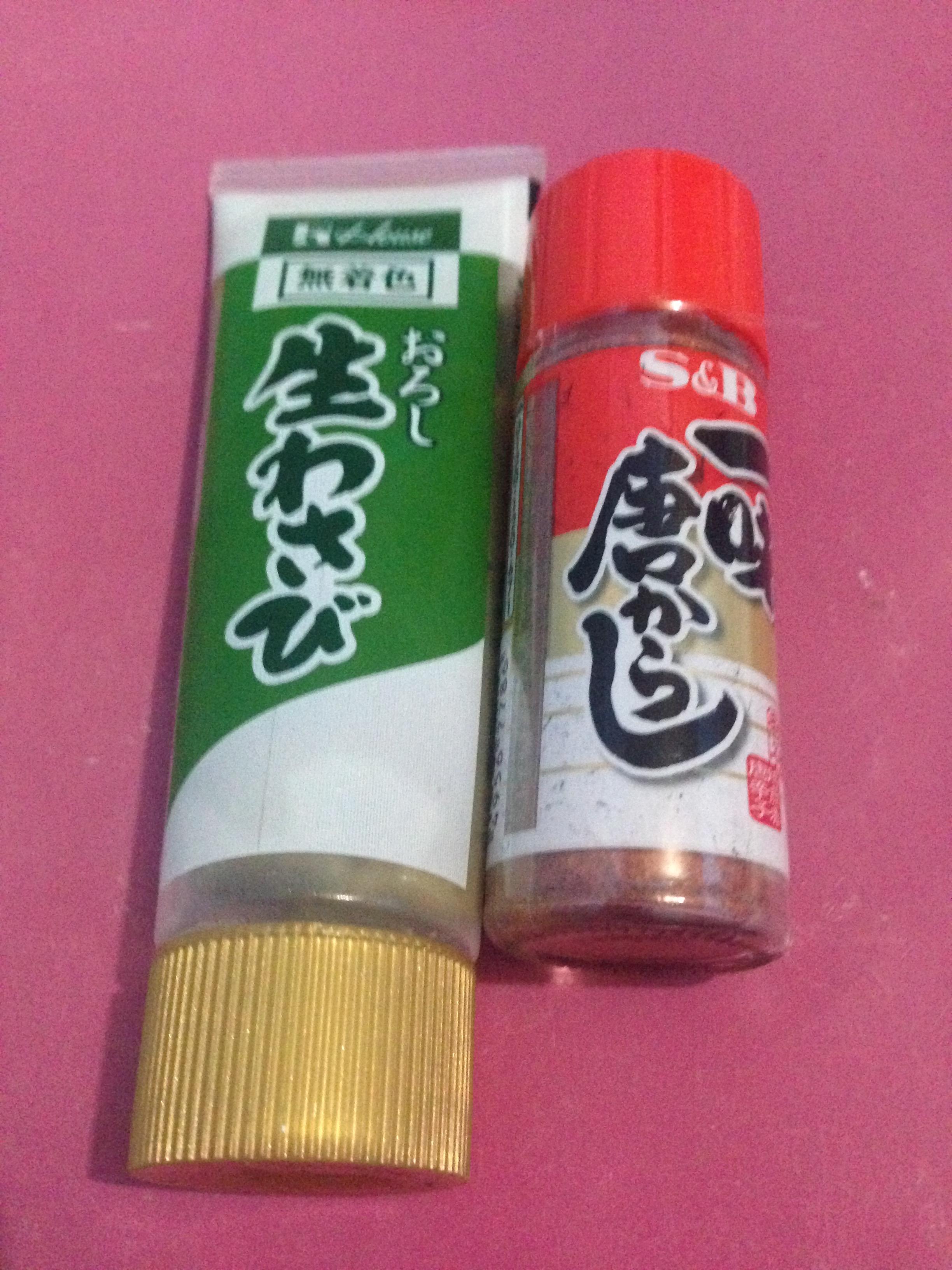 日本の調味料たち