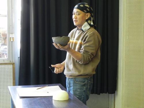 坂出親子おてつ隊主催・茶器花器制作ワークショップ説明