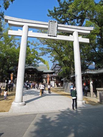 10月24日 石切神社 5