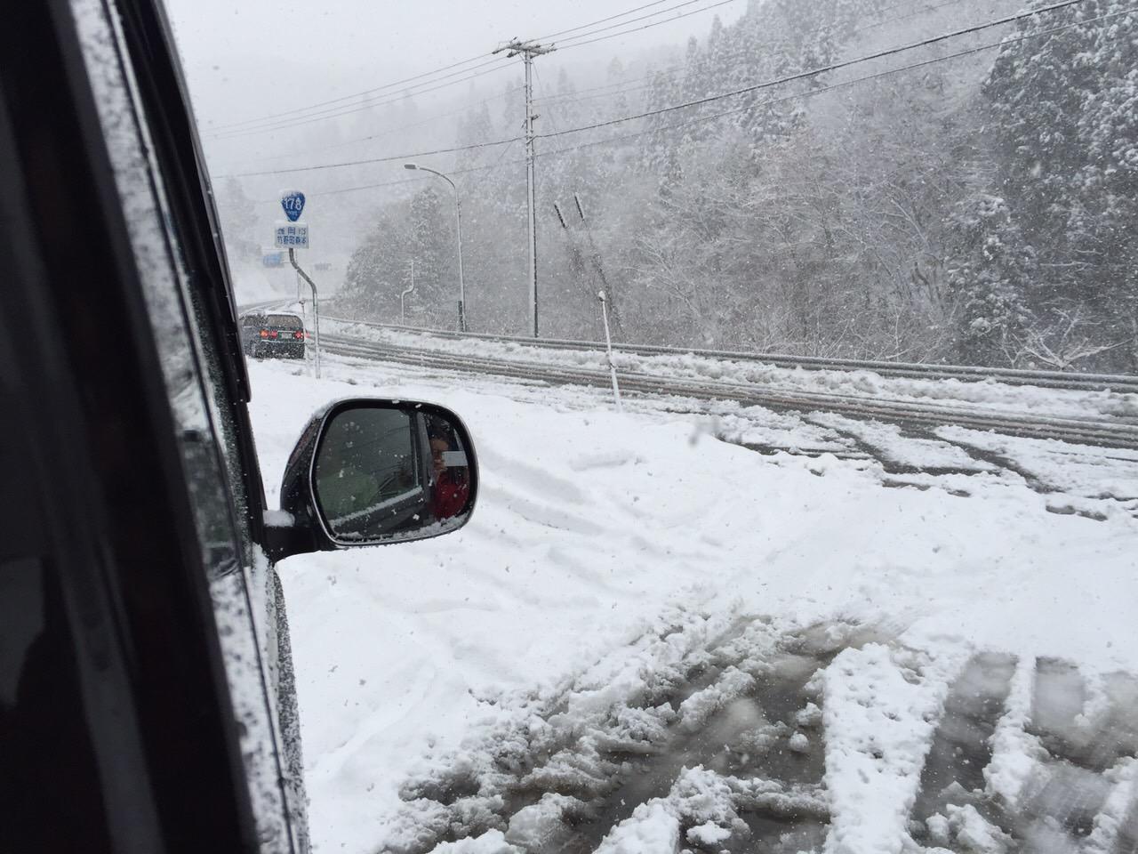 香住 雪景色1