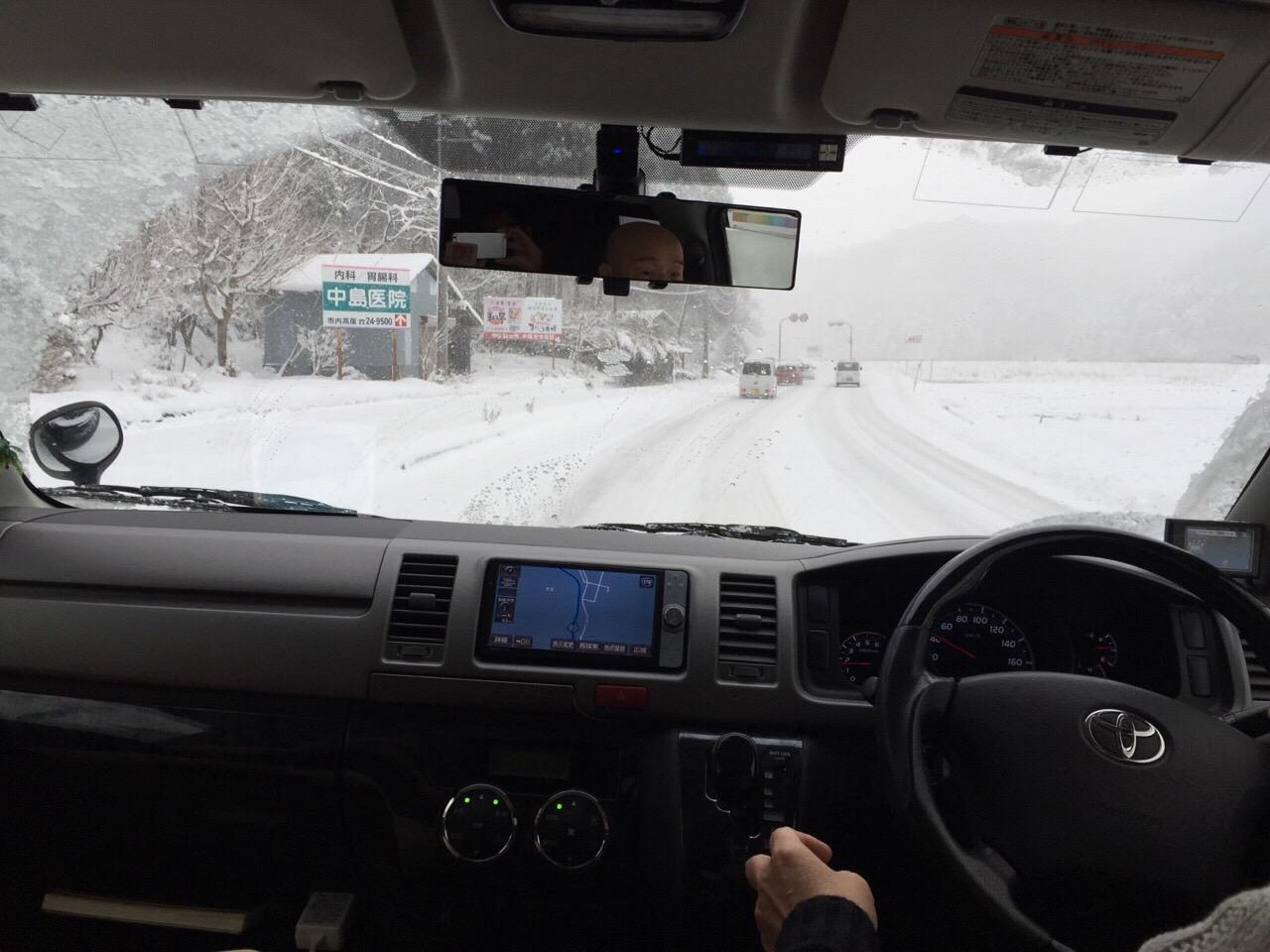 香住 雪景色2