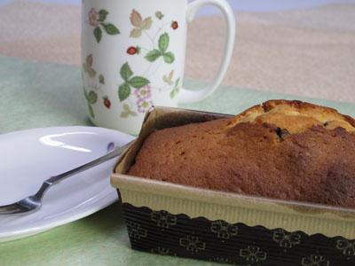 2月25日 チョコチップパウンドケーキ