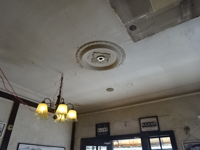 旧多田屋店舗 1階天井1