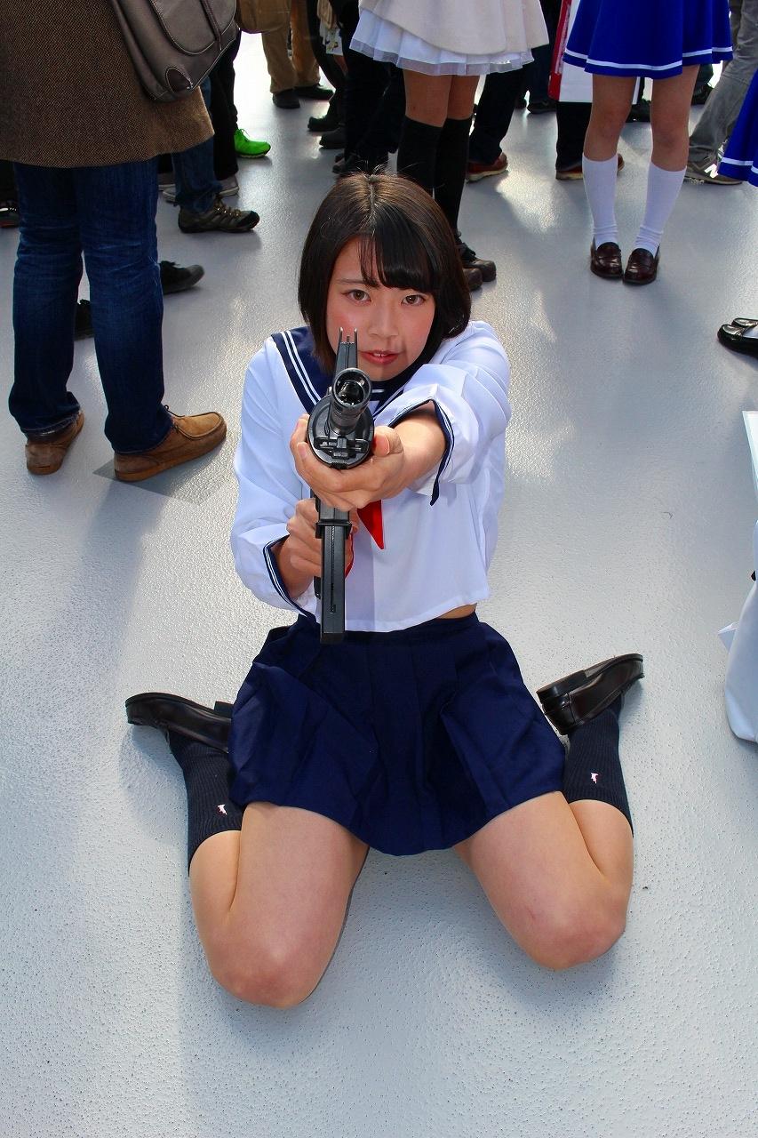 星泉 セーラー服と機関銃 コミケ C89 コスプレ 05