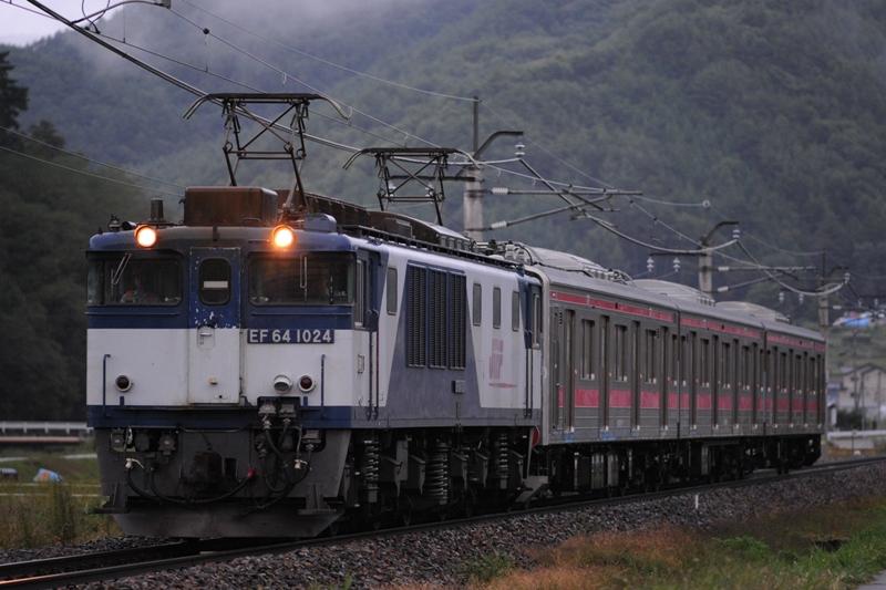EF64 1024富士急甲種