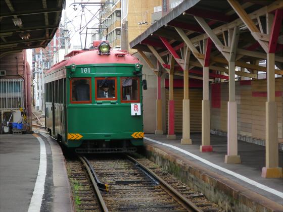 阪堺電車モ161貸切01