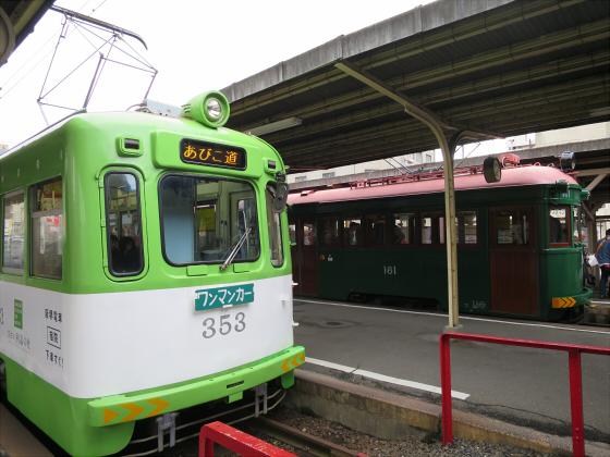 阪堺電車モ161貸切08