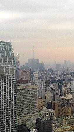東京タワーからスカイツリー